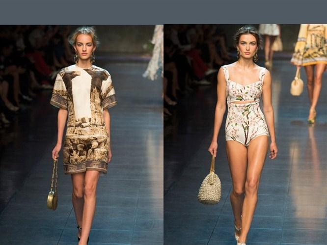 Milan Moda Haftası & Dolce Gabbana 2014 defilesi