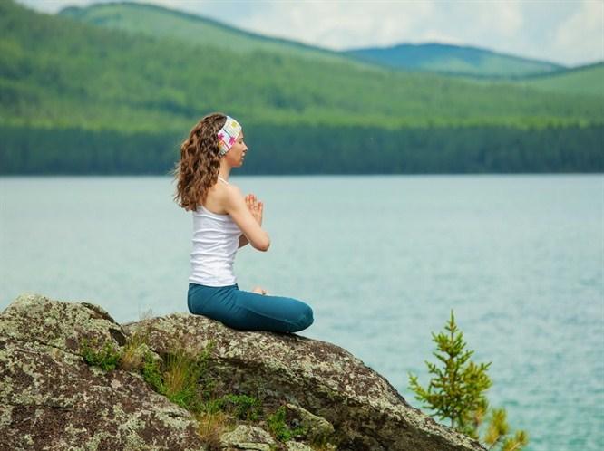 Meditasyon ile huzur bulun