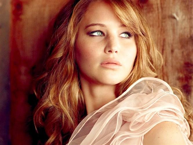 Jennifer Lawrence çekiminden!