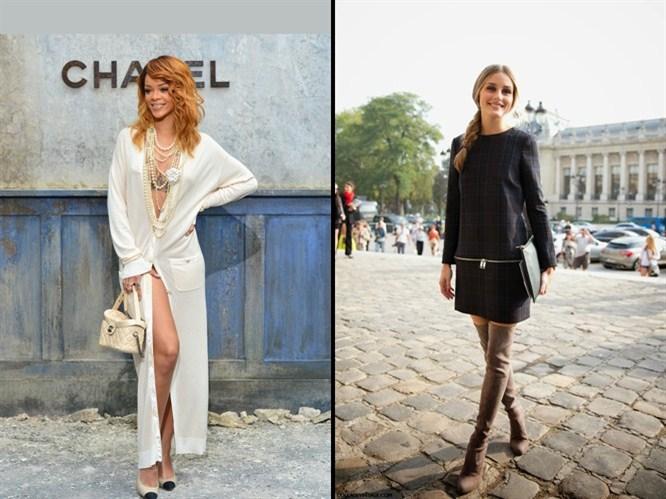 2014 Paris Moda Haftası sokak stilleri!