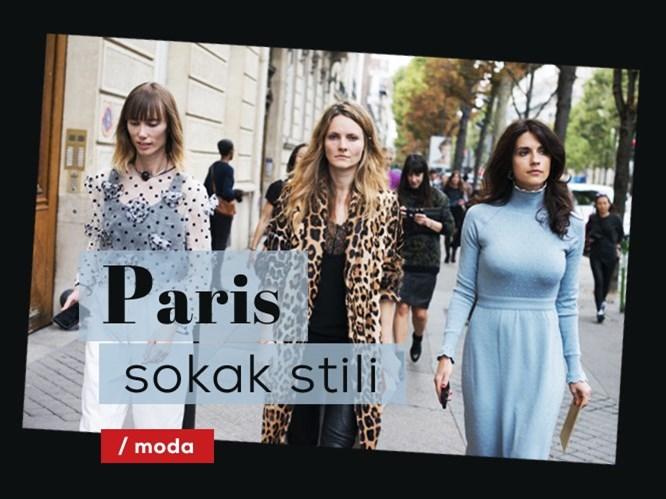 Paris sokak stili!