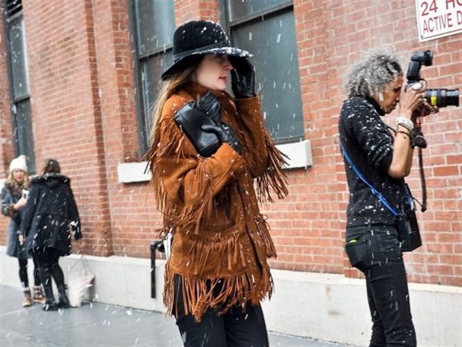 New York Kış Modası!
