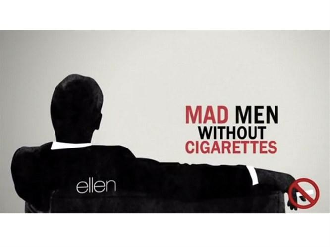 Mad Men'de sigara olmasaydı
