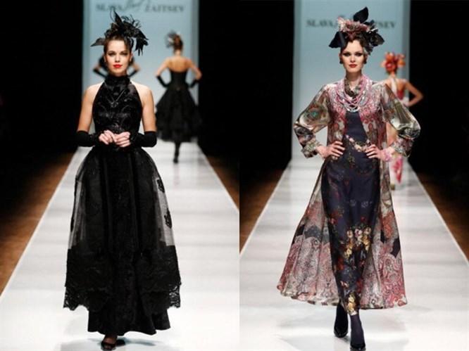 Rusya Moda Haftası & Slava Zaitsev defilesi