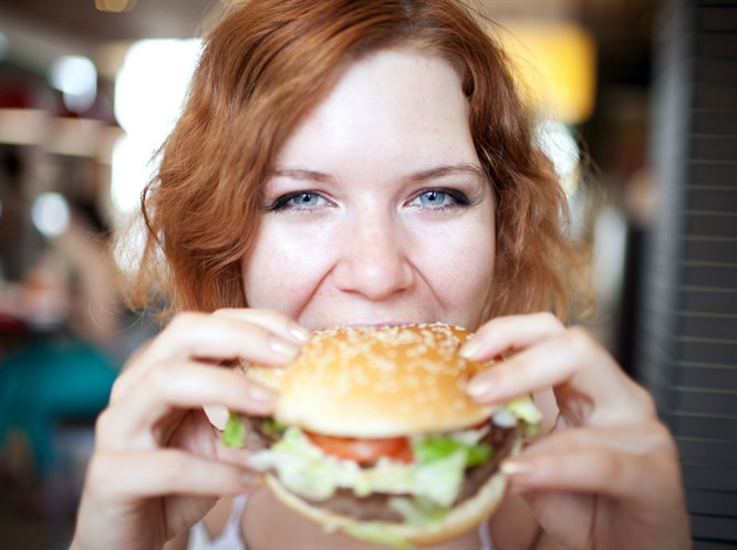 Fast food'un zararlarını azaltın!