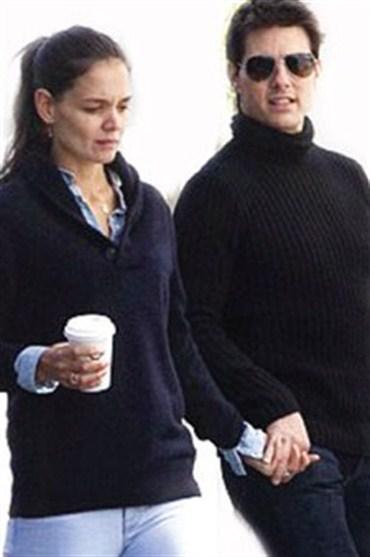 Tom Cruise ve Katie Holmes'un