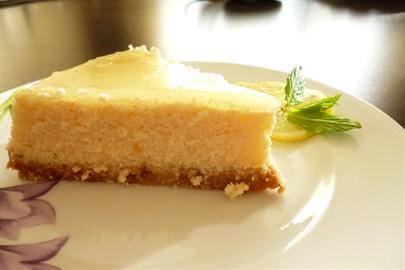 limonlu fırın cheescake