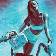 Giselle'li Versace reklamları