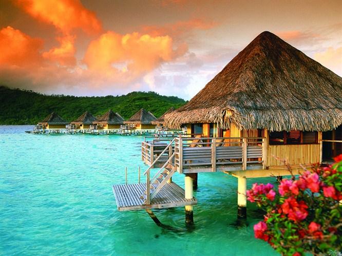 Bora Bora'da tatil yapmak!