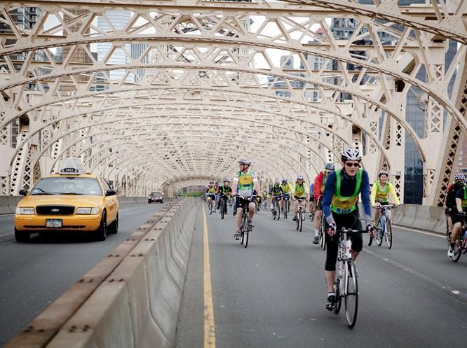 New York'ta Bisiklet Turu