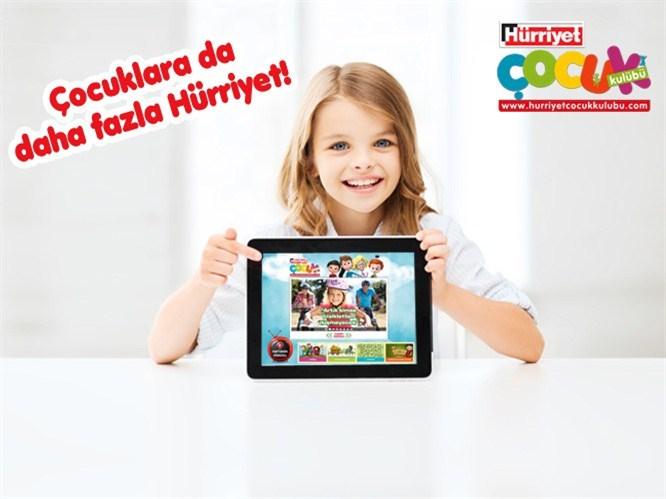 Hürriyet Çocuk Kulübü artık tablette!