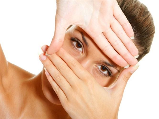 Güzel gözler için maskeler!