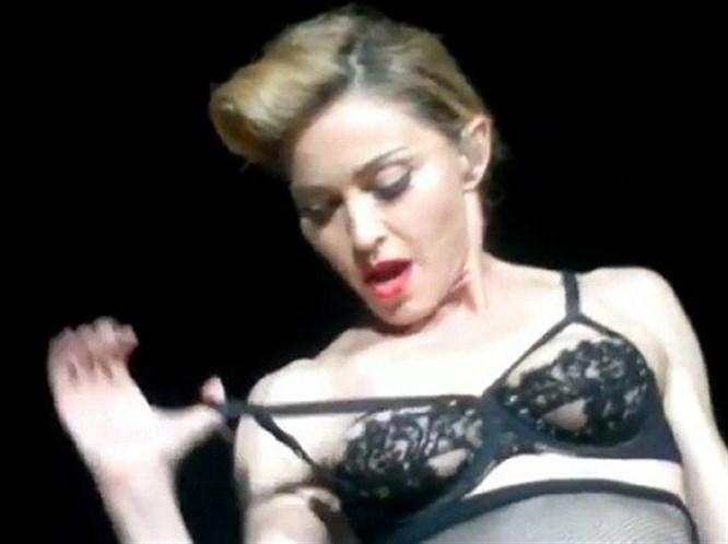 Dünya hala Madonna'nın bu hareketini konuşuyor