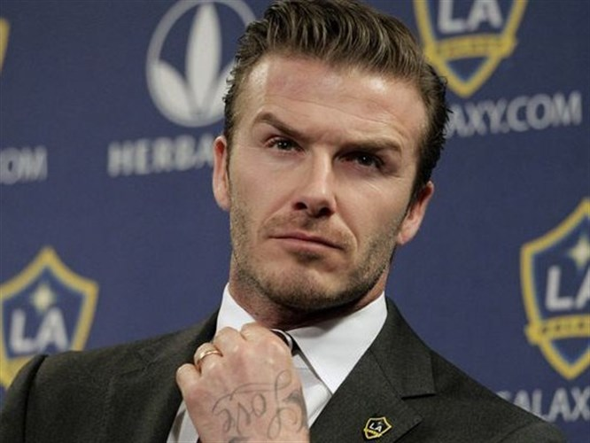 David Beckham kaza geçirdi