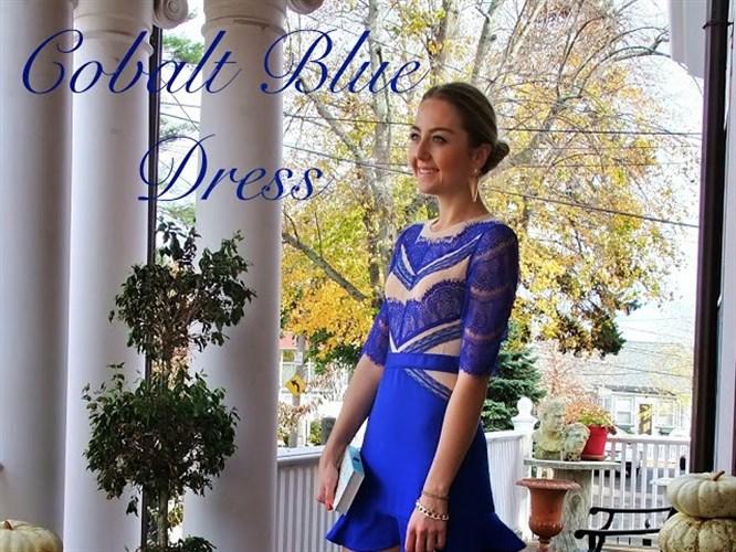 Yılbaşı Seçimi: Mavi Elbise!
