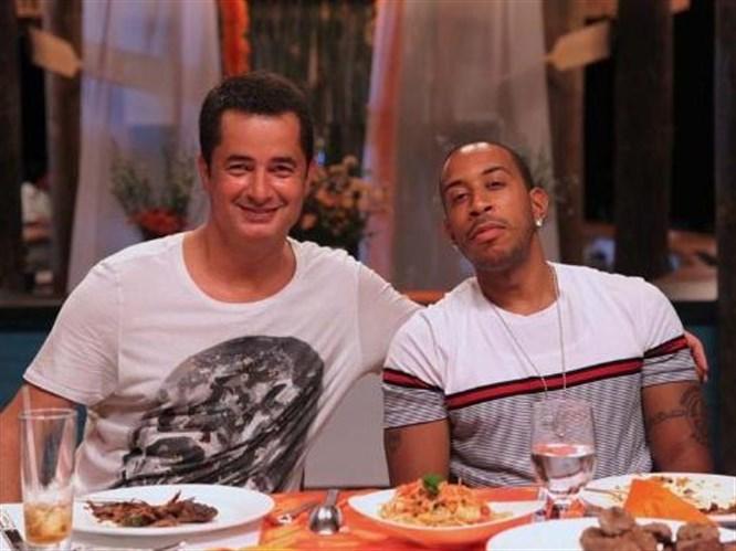 Ludacris'e döner ziyafeti
