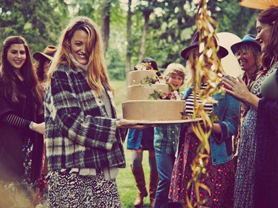 Blake Lively'nin Baby Shower'ı