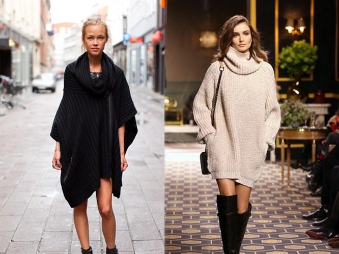 Trend: Süveter Elbise