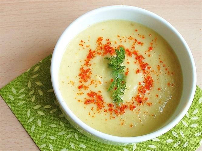 Tahinli kabak çorbası