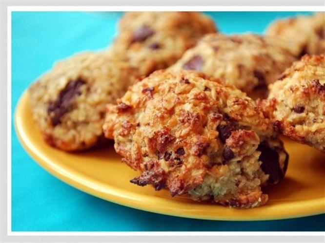 Yulaflı, muzlu kurabiye