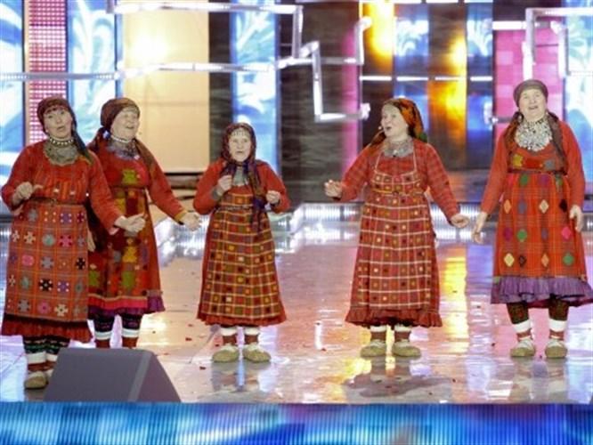 Rusya'yı Eurovision'da nineler temsil edecek! (VİDEO)