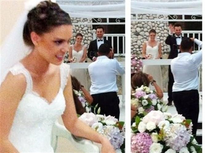 Aslı ile Birkan evlendi