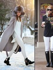 Kışın Beyaz Jean Nasıl Giyilir?