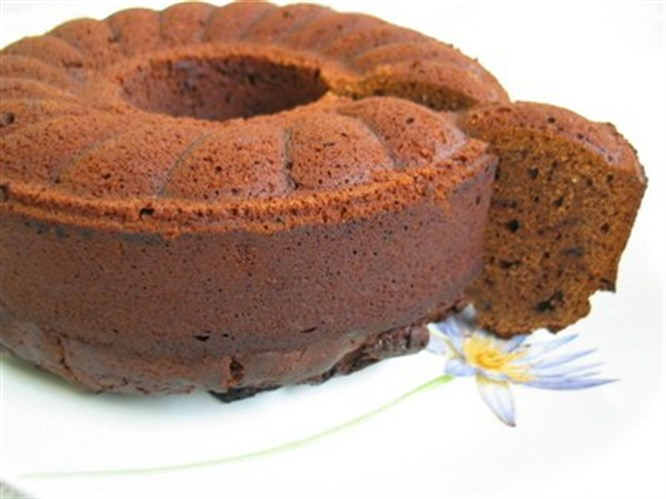 Zencefilli ve karamelli kek