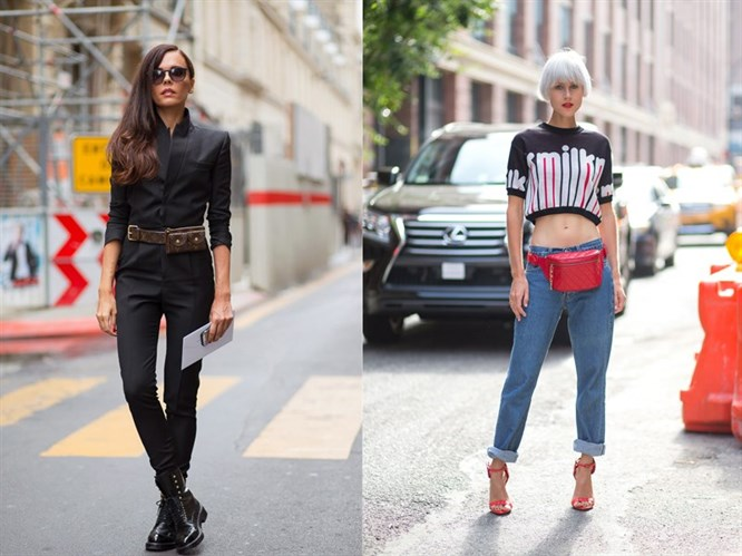 Yeni Trend: Bel Çantaları