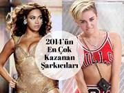 2014'ün En Çok Kazanan Kadın Şarkıcıları
