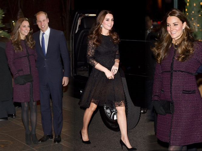 Kate Middleton'dan London Elbise