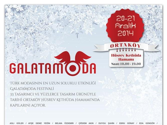 GalataModa Festivali 20-21 Aralık'ta Başlıyor!