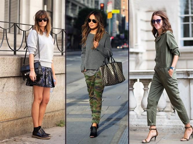 Stilinizdeki Militer Etkisiyle Sokakları Kuşatma Zamanı!