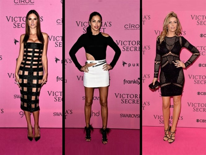 2014 Victoria's Secret After-Party Kıyafetleri