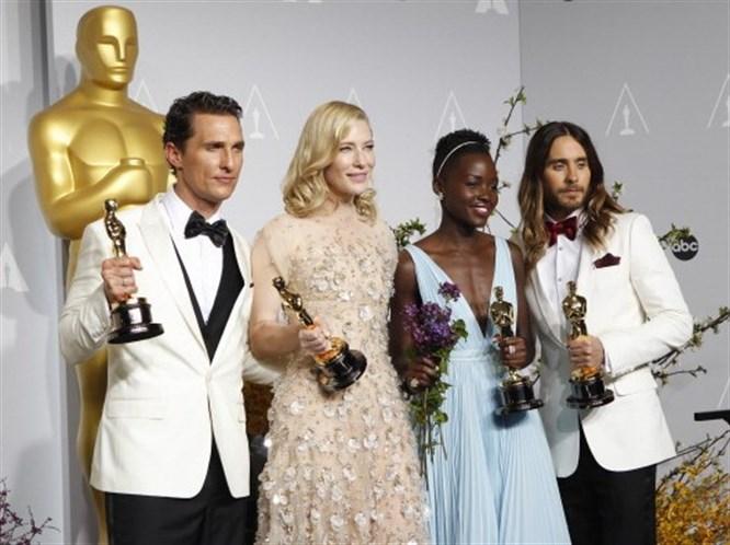 86. Oscar töreninden kareler!