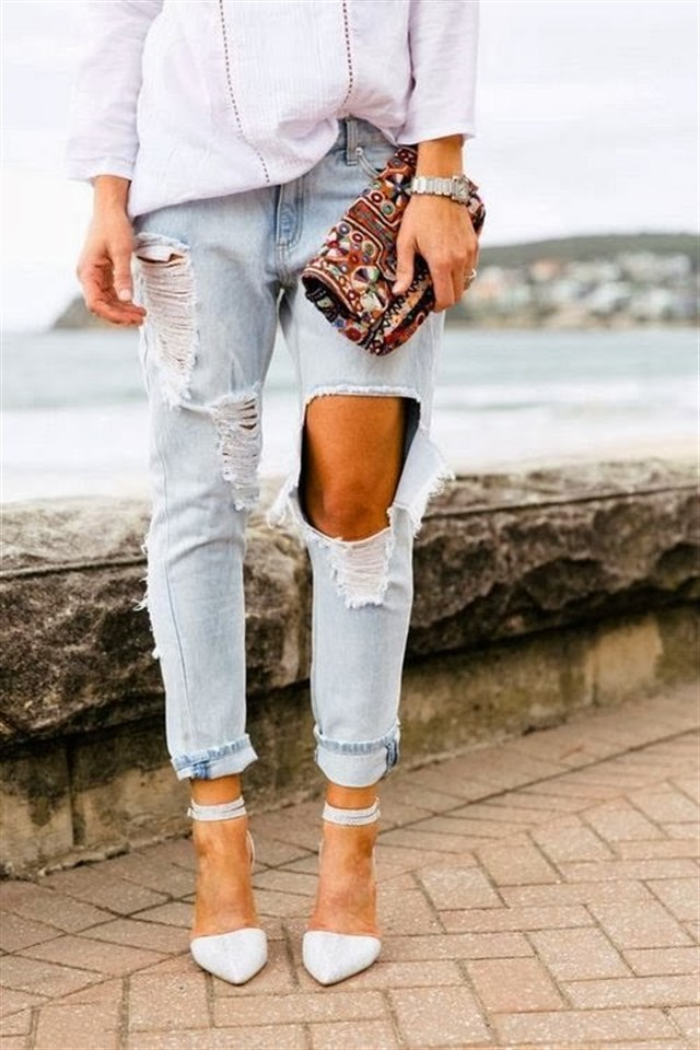 Trend: Super Ripped Jeans