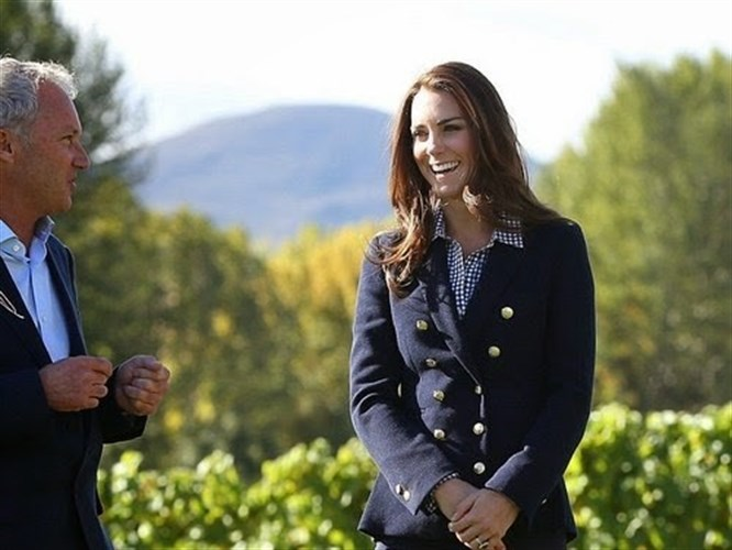 Kate Middleton: Gap Fitted Boyfriend Gömlek