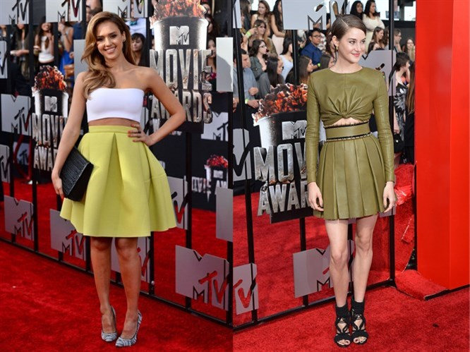 MTV Film Ödülleri'nde 7 kısa kıyafet uzunlara karşı!
