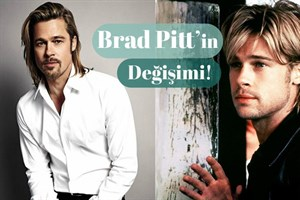 42 Fotoğrafla Brad Pitt'in Değişimi!