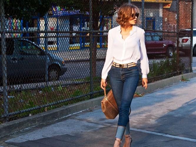 Beyaz gömlek giymenin en şık 4 yolu!