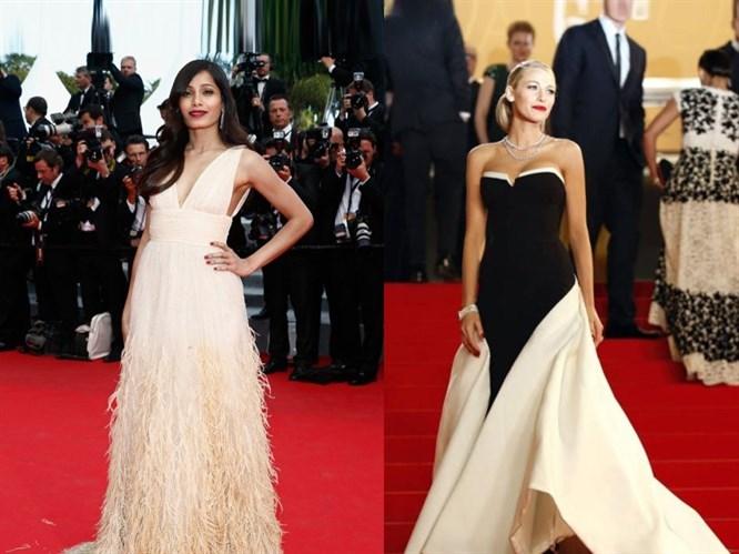 2014 Cannes Film Festivali Kırmızı Halı Kıyafetleri