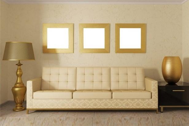 Oturma Odalarında Altın Işıltısı