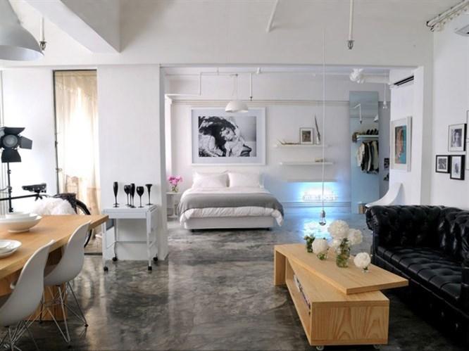 Tek Odalı Evler İçin Dekorasyon