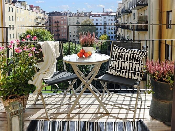 Balkon İçin Dekorasyon Önerileri