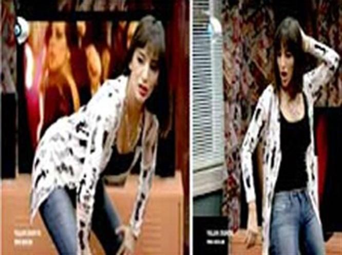 Açılay'ın erotik dansı tık rekoru kırıyor (VİDEO)