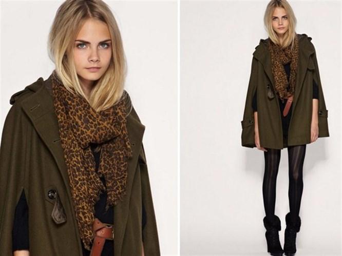 2013 kışının moda rengi; Asker yeşili!