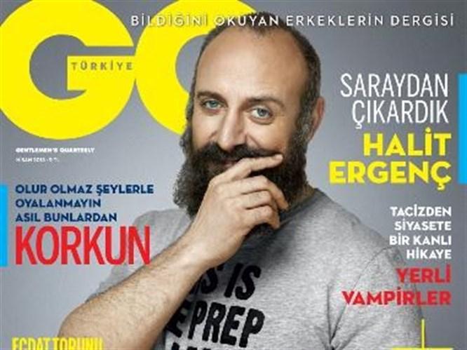 """Halit Ergenç röportajı; """"Paspas da sattım, karaborsada bilet de"""""""