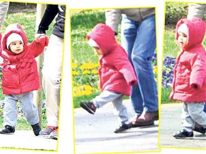 Ebru Gündeş'in kızı ilk kez görüntülendi!