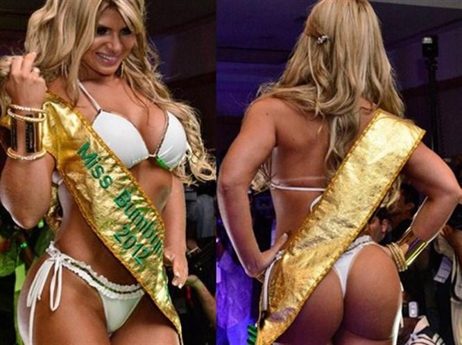 Brezilya'nın en güzel kalçalı kızı
