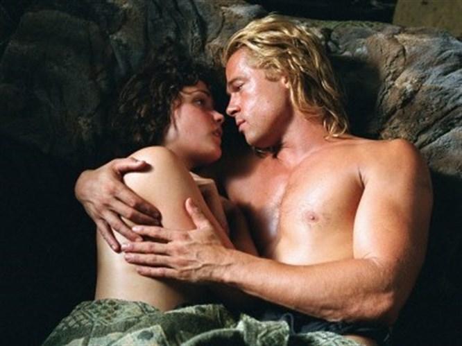 'Karımı Brad Pitt ile bastım'